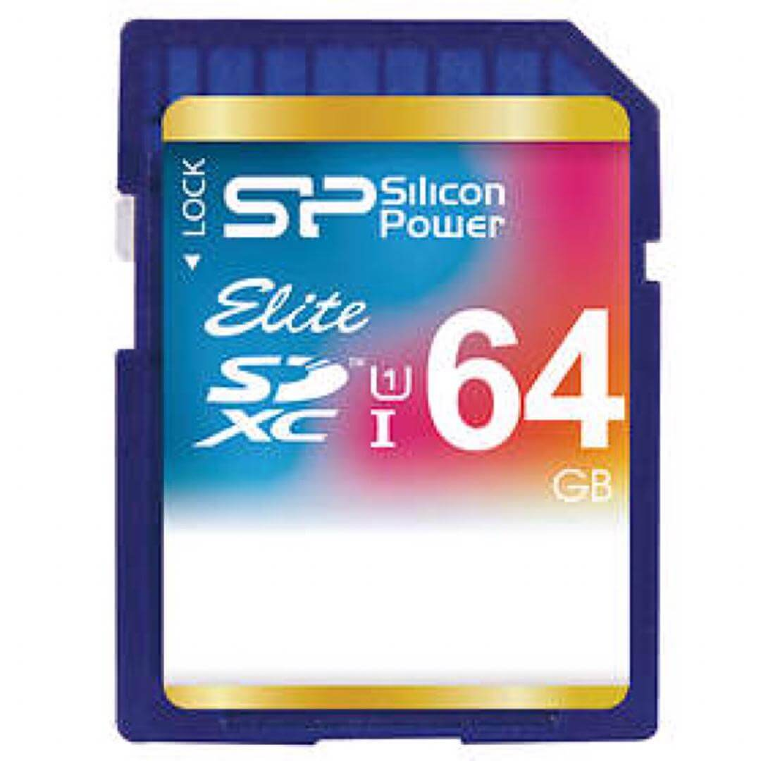silicon power SDHC 64GB