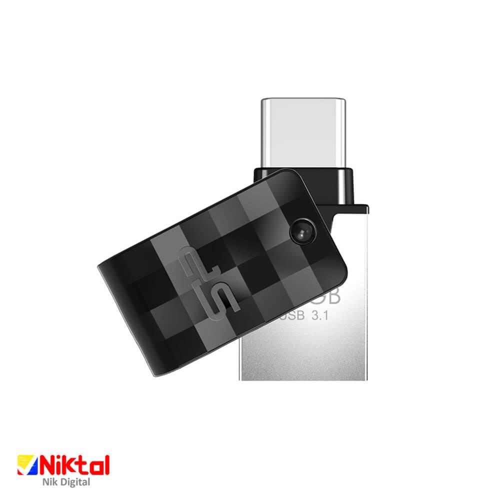Silicon power C31 OTG&Type-C 64GB Flash Memory فلش مموری