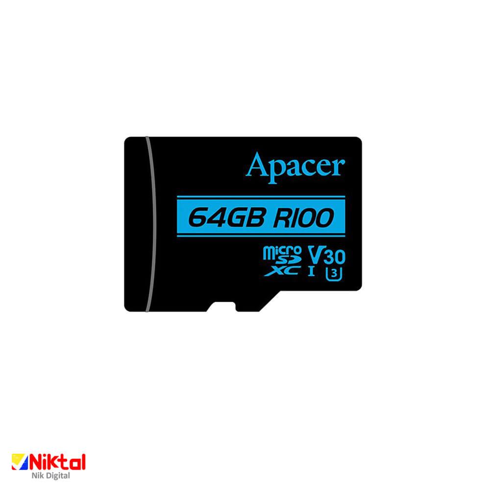 Apacer MicroSDXC UHS-I U3 V30 64GB