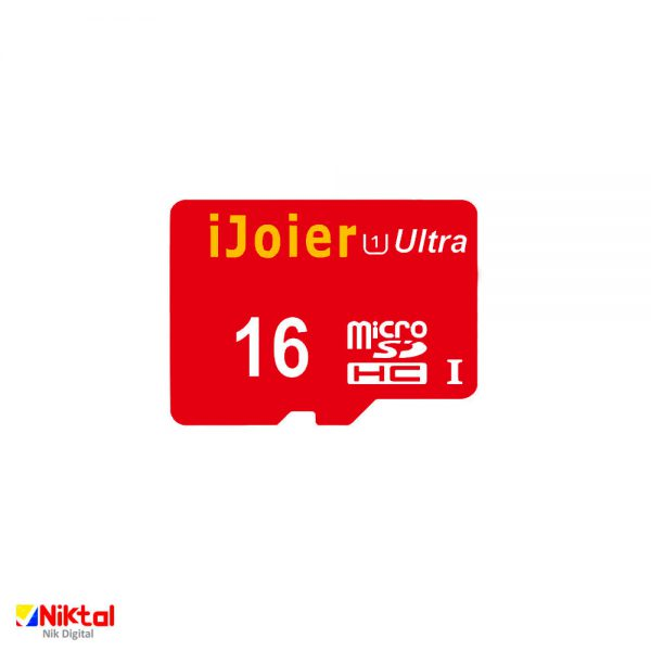 ijoier microSDHC 16GB with USB&OTG Adapter
