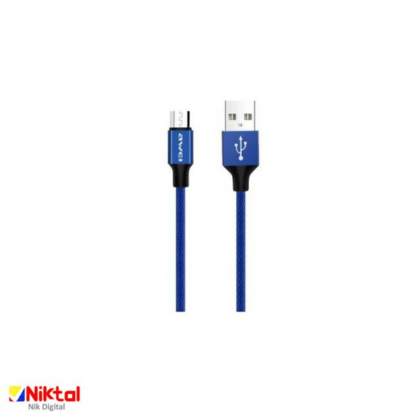 AWEI CL-28 USB to micro-USB conversion cable کابل تبدیل اوی