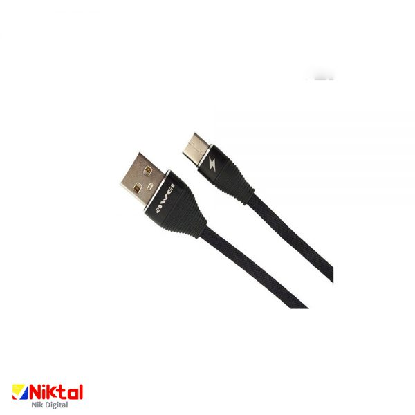 AWEI CL-29 USB to Type-C conversion cable کابل تبدیل اوی