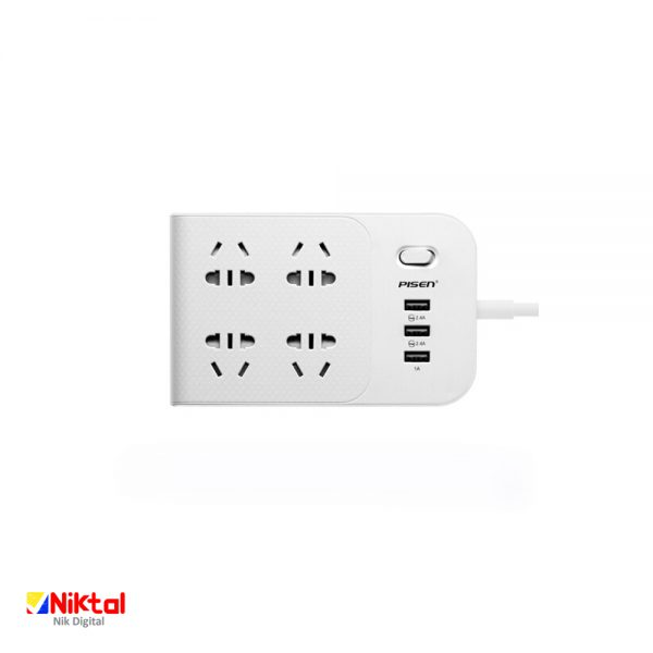 Pisen Smart Power Strip 4 Sockets