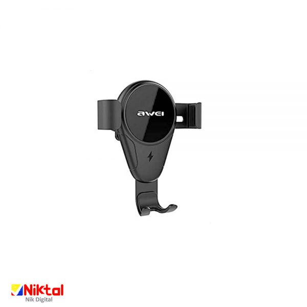 Awei CW3 Wireless Car Charger and Holder شارژر و هولدر گوشی اوی