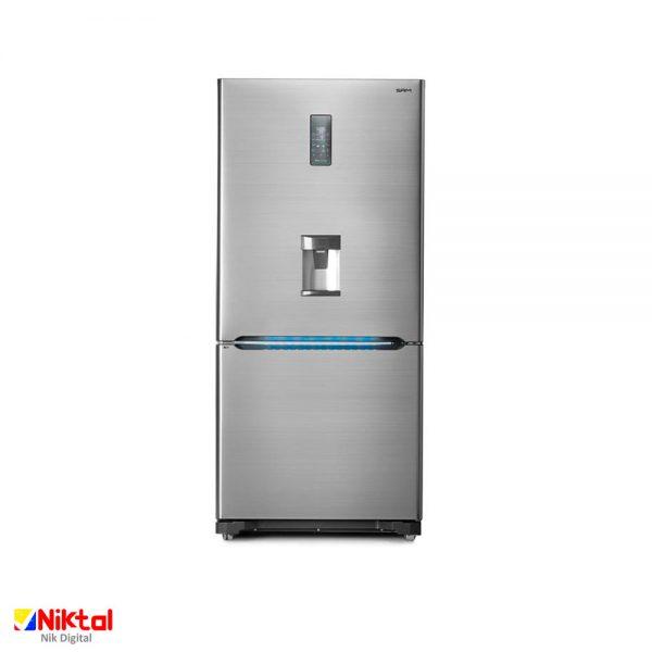 Sam Electronic RL510W refrigerator یخچال و فریزر سام
