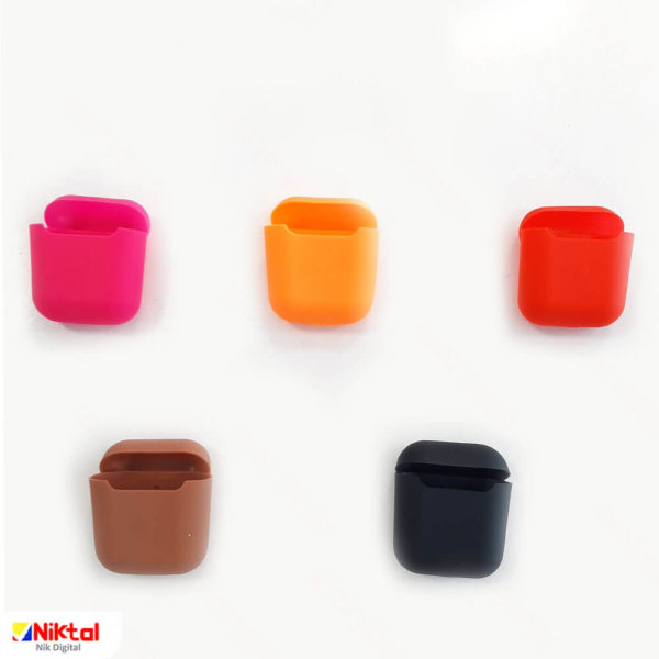 Silicone earpad bag without small size clip کیف ایرباد