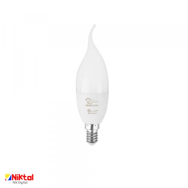 Donico E14 7 watt incandescent lamp لامپ دونیکو