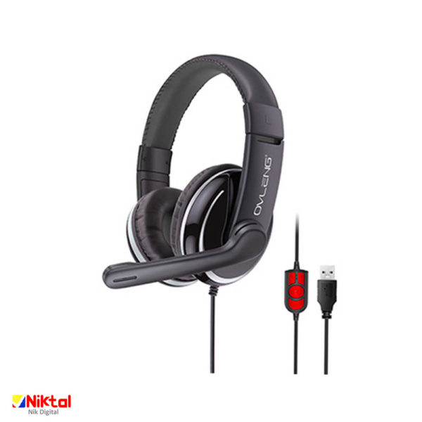 Ovleng Q6 wired gaming headset هدفون بازی