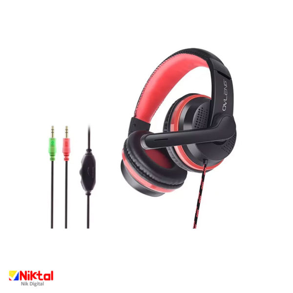 Ovleng X8 wired gaming headset هدست سیمی گیمینگ