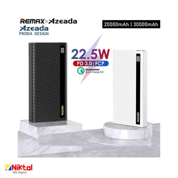 Remix PD-P72 20000mAh Power Bank پاوربانک ریمکس
