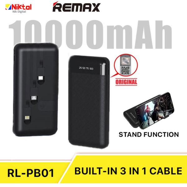 Remax RL-PB01 10000mAh Power Bank پاوربانک ریمکس