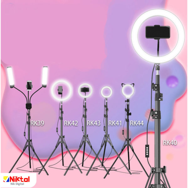 Ring light for photography رینگ لایت