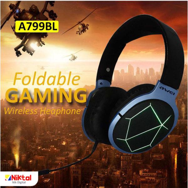 Awei A799BL Bluetooth headphone هدفون بلوتوثی اوی