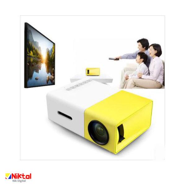 Video projector YG-300 پروژکتور
