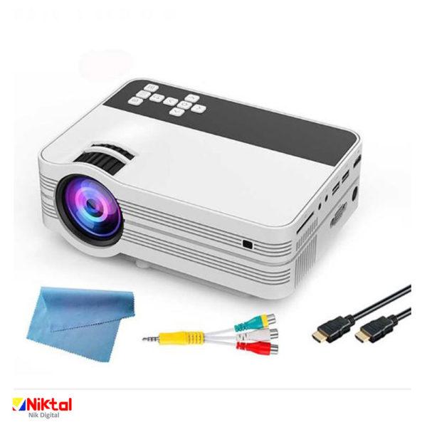 LED HD video projector UB10 پروژکتور
