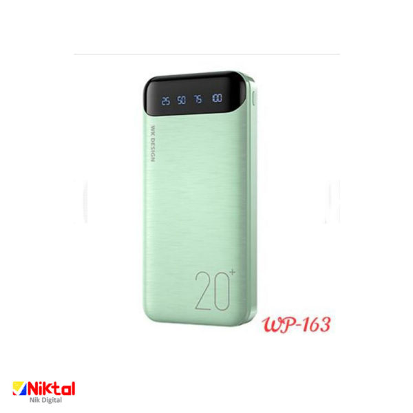 WK-DESIGN WP-163 20000mAh Power BanK پاوربانک