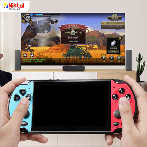 Game X7 plus handheld console کنسول بازی