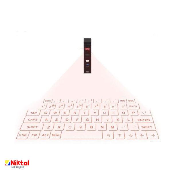Optical, laser projector keyboard کیبورد لیزری نوری