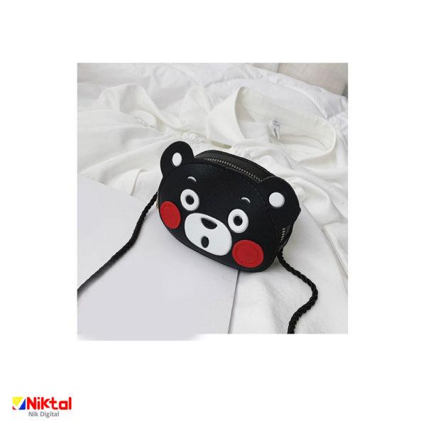 Black bear doll doll bag کیف عروسکی