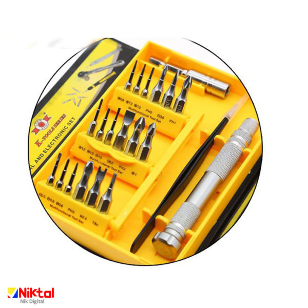 Mechanical and electronic screwdriver tool KS-8016 ابزار تعمیر
