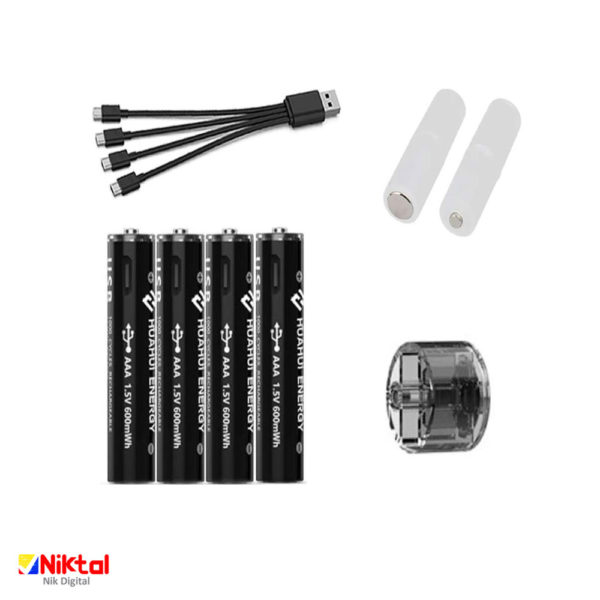 Micro Halfpen rechargeable battery باطری نیم قلمی