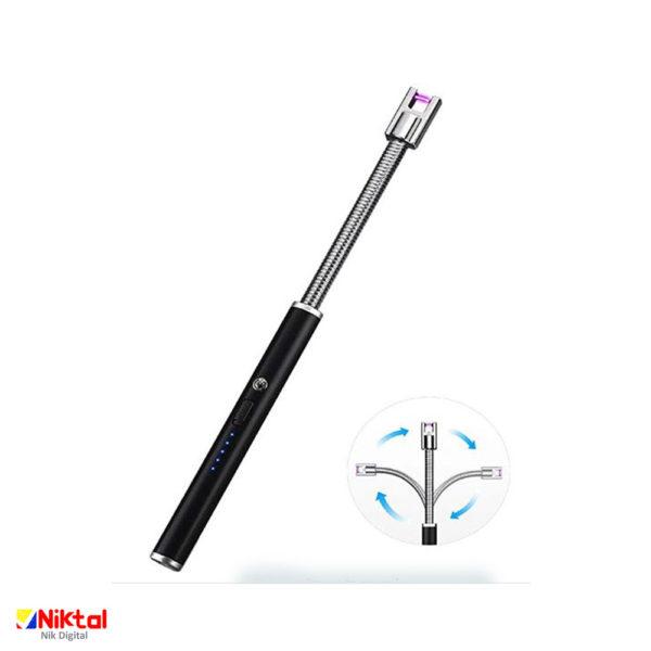 Rechargeable electronic lighter F122 فندک الکترونیکی