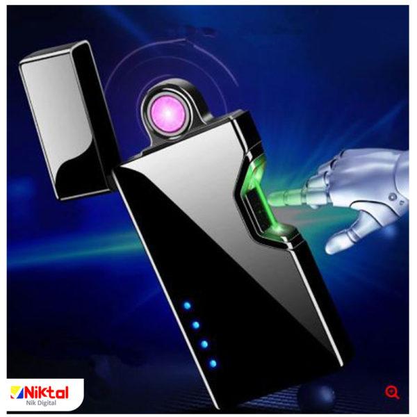 Electronic rechargeable lighter 875B فندک الکتریکی