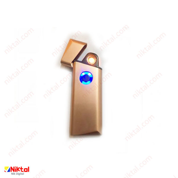 Electronic rechargeable lighter F425 فندک شاری