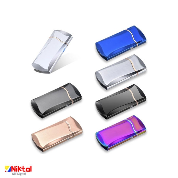 Electronic rechargeable lighter F707 فندک شارژی