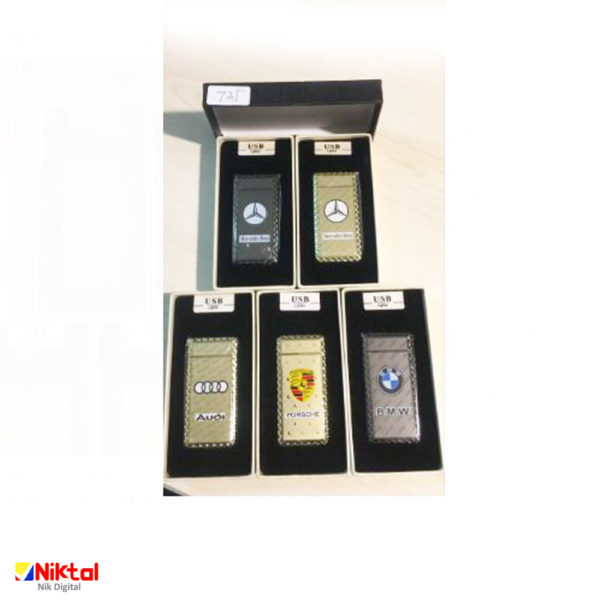 Electronic rechargeable lighter F735 فندک الکتریکی