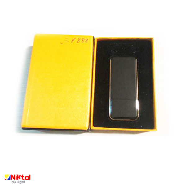 Electronic rechargeable lighter F888 فندک الکترونیکی