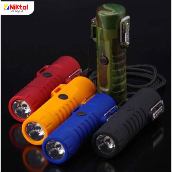 Lighter Flashlight model F1604 فندک چراغ قوه دار
