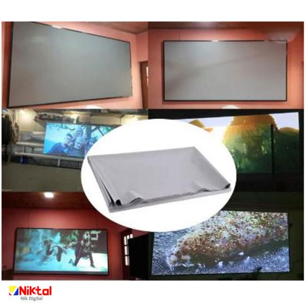 Portable video projector screen پرده پروژکتور