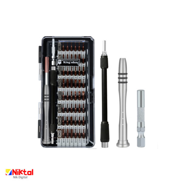 Multi-purpose magnetic screwdriver for electronic repairs, model KS-8062 ابزار تعمیر وسایل الکترونیکی