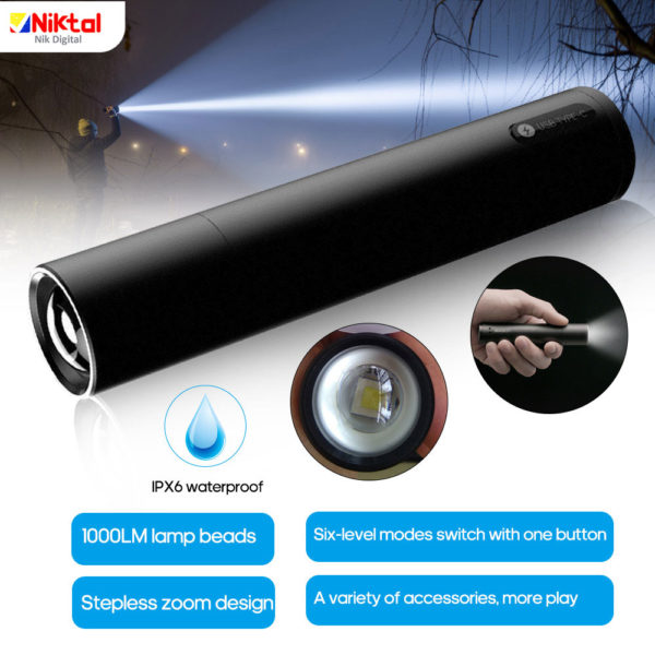 flashlight Xiaomi BEEBEST FZ101 چراغ قوه