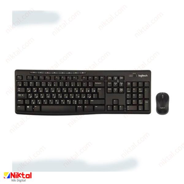Logitech MK270 wireless keyboard and mouse ماوس و کیبورد
