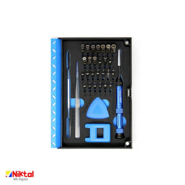 Professional electronic repair tool kit KS-8037 ابزار تعمیر وسایل الکترونیکی