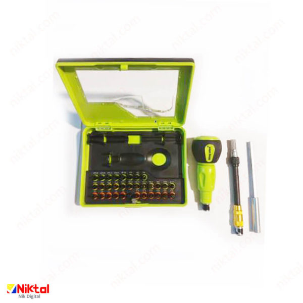 Electronic tool repair kit model KS-80923 پیچ گوشتی شارژی