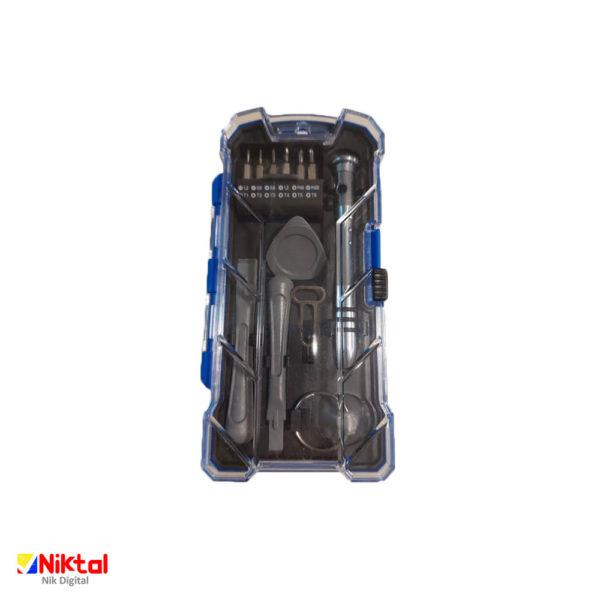 Electronic tool repair kit model KS-840017/18 ابزار تعمیر وسایل الکترونیکی