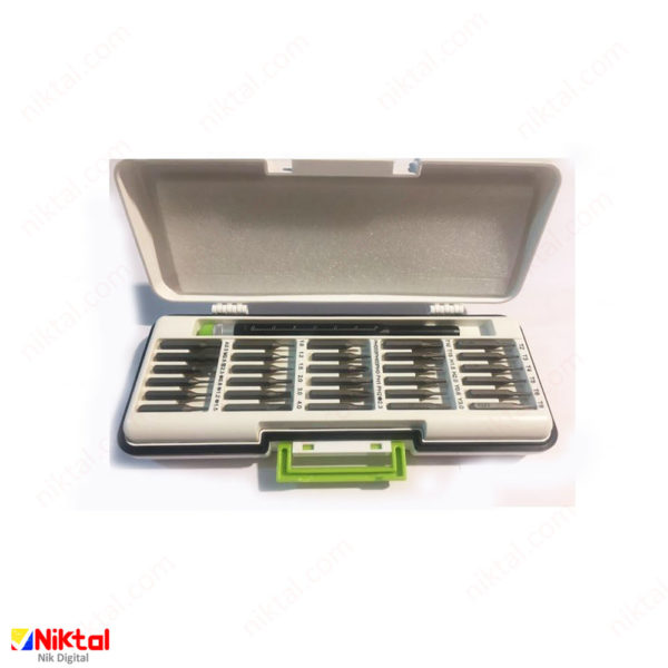 Electronic tool repair kit model KS-88203 پیچ گوشتی