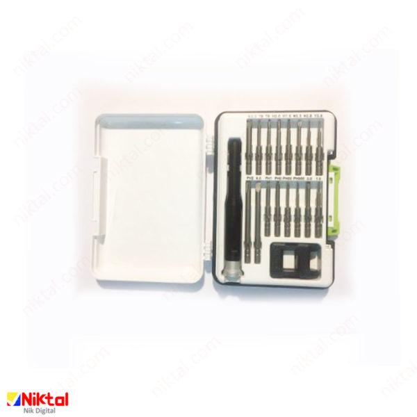 Electronic tool repair kit model KS-88204 پیچ گوشتی شارژی