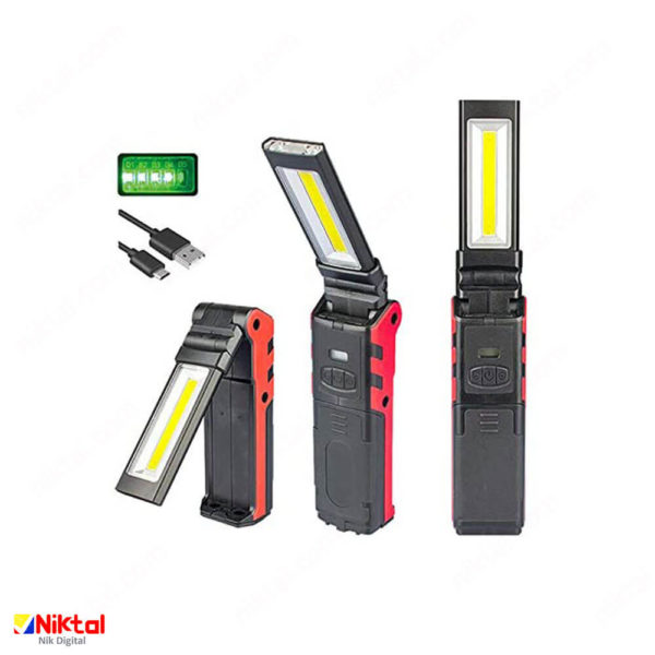 USB rechargeable work light چراغ کار قابل شارژ
