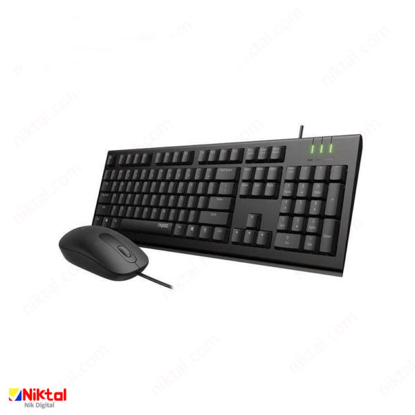 Repo X120 PRO keyboard and mouse ست ماوس کیبورد