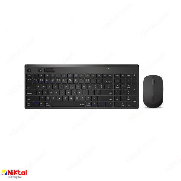 Repo MK275S Wireless Keyboard and Mouse ست ماوس و کیبورد