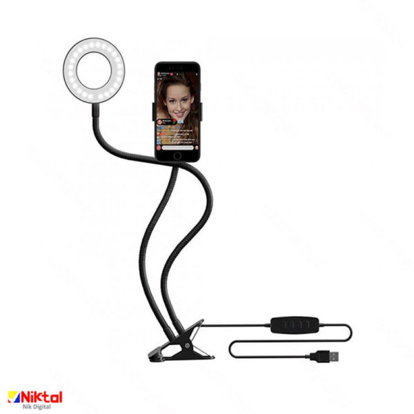 Ring Light and Mobile Holder رینگ لایت