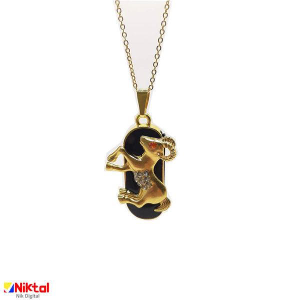 Flash memory jewelry Ijvir badge symbol of April فلش مموری