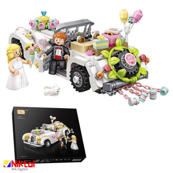 پازل ساختنی لوز طرح ماشین عروسی
