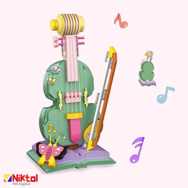 پازل ساختنی لوز طرح گیتار