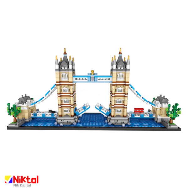 پازل ساختنی لوز پل معلق لندن