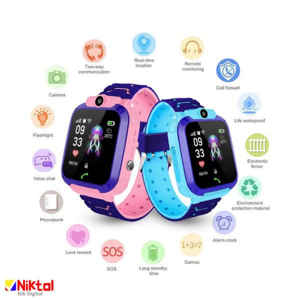 ساعت هوشمند کودکانه مدل Q12